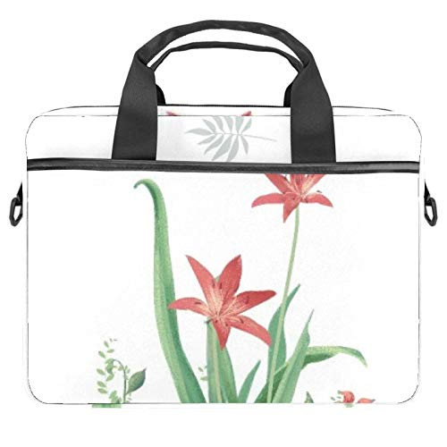 Protective Carry Case Luxury Computer Briefcase Suitable for 13.4'-14.5' Laptop with Display Slim Leaves