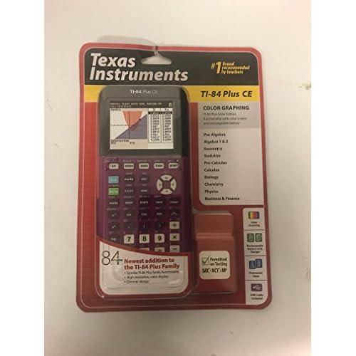 TI84Plus CE prugna 2425ufficio Electronics
