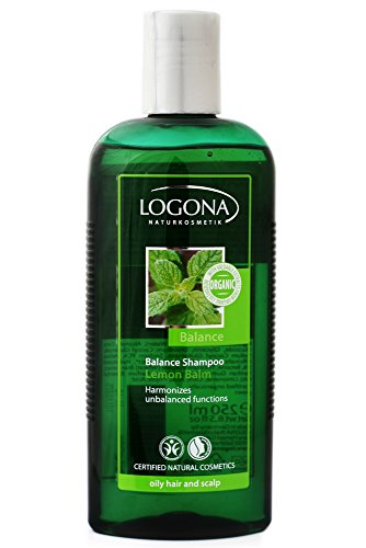 Logona Lemon Balm Balance Shampoo voor vettig haar en gevoelige hoofdhuid.