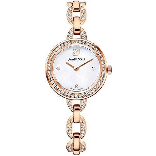 Swarovski Damen-Uhren Analog Quarz One Size Edelstahl 87360202