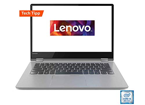 Lenovo Yoga 530 35,6 cm (14,0 Zoll, 1920x1200, Full HD, IPS, Touch) Slim Convertible Notebook (Intel Core i5-8250U, 512GB SSD, 8GB RAM, Intel UHD Grafik 620, Windows 10 Home) schwarz