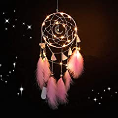 ♥【Dream Catcher】- Nightmare pass through the holes and out of the window, the good dreams are trapped in the web, then slide down the feather tassel to the sleeping person, let you sleep with sweet dreams every night.It brings love, light and positiv...