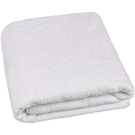 Melocotton 1 Toalla De Alberca Baño Completo Extra Grande (190x90cm) 100% Algodón de Dos Cabos, para Uso Rudo, Ideal para Hoteles y Hospitales. Pool Towel
