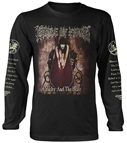 Cradle of Filth 'Cruelty and The Beast' Long Sleeve Shirt (2 Extra Large)