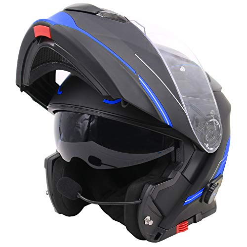 Casco de moto con bluetooth integrado