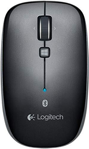 Logitech - Ratón Bluetooth M557 para PC, Mac y Windows 8 (910-003971) (redondo)