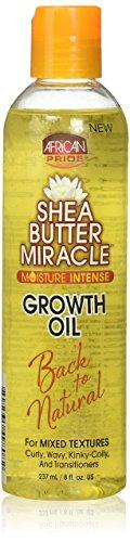 African Pride Shea Butter Miracle Wachstum Öl 237ml/8fl. oz