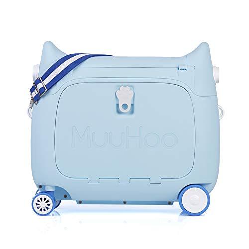 LRZ 3in1 Luggage Ride On multifunctionele koffer voor kinderen kan trekken, heffen, draagbaar en variabel reisbed afleggen
