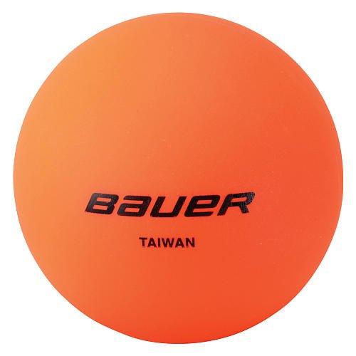 Bauer Hockeyball, warm, Orange, 4 Stück