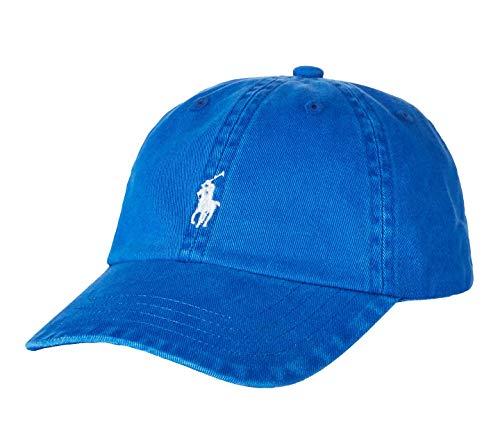 Ralph Lauren Baby Boy Twill Baseball Cotton Cap Size 12M/24M Pacific Blue