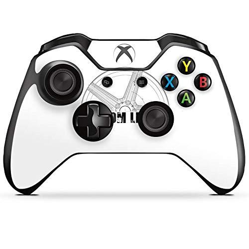 DeinDesign Skin kompatibel mit Microsoft Xbox One Controller Aufkleber Folie Sticker Fahrwerk Zahnrad Auto