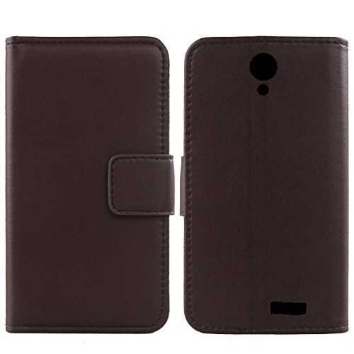 Gukas Design Echt Leder Tasche Für MEDION Life E5020 MD 99616 5