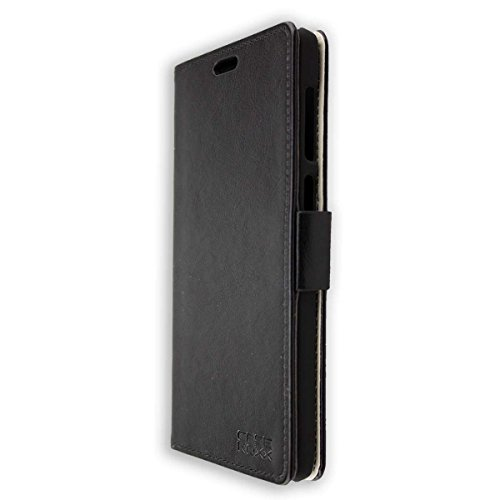 caseroxx Tasche für Vernee Apollo Lite Bookstyle-Hülle in schwarz Cover Buch
