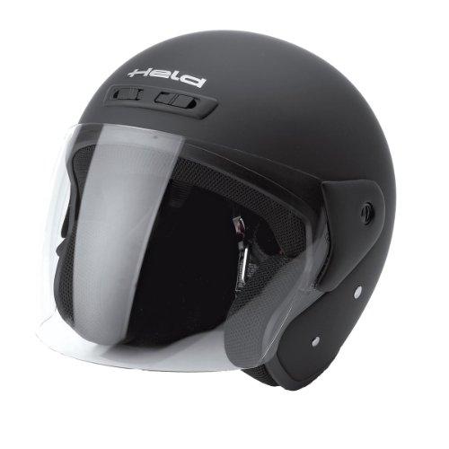 Held HEROS Jet-Helm Schwarz-Matt - Größe: L