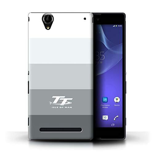 Isle of Man TT Offiziell Hülle/Hülle für Sony Xperia T2 Ultra/Knackig Muster/Eleganz Kollektion
