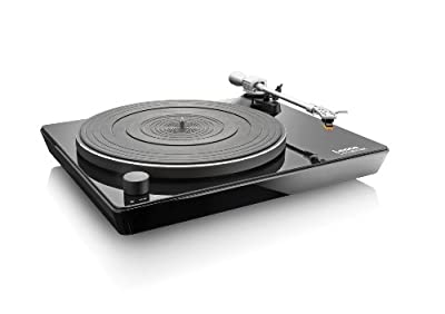 Lenco L-175 Direct Drive Glass Turntable