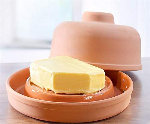 NaturGut Ton Butterkühler - frische Butter ohne Kühlschrank - Butterdose