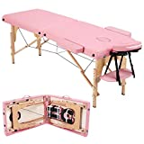 Costoffs Adjustable Massage Table Multi-Functional Folding Professional Therapy Salon Table Spa Couch Bed