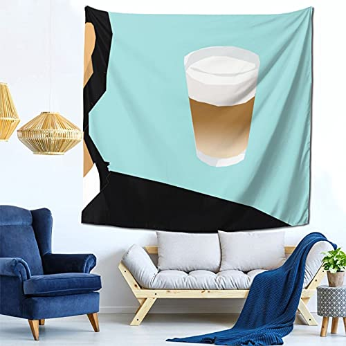 Gbyuhjbujhhjnuj Tapiz de cerveza para decoración de pared, tapiz para dormitorio, sala de estar, dormitorio, cortina de ventana, tapete de picnic, 122 x 122 cm