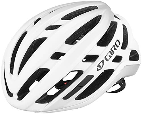 Giro Agilis Casco de Ciclismo Road, Blanco Mate, M   55-59cm