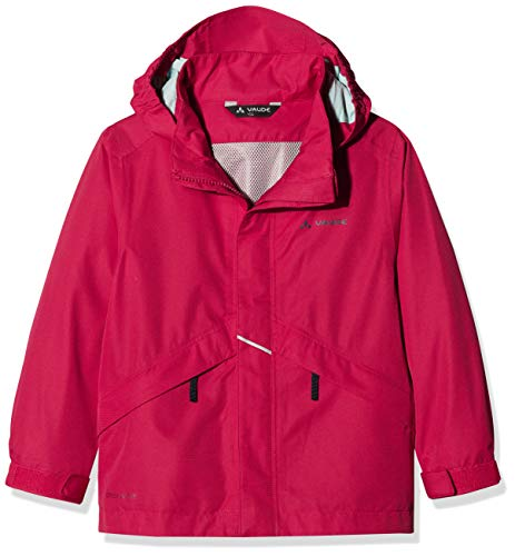 VAUDE Kinder Jacke Escape Light III, Regene, crimson red, 158/164, 409739771640