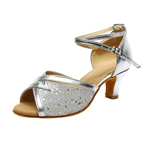 Amlaiworld Tanzschuhe, Damen Mode Rumba Walzer Prom Ballroom Latin Salsa Sandalen Dance Shoes