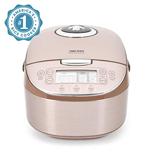 Aroma Housewares MTC-8008 Aroma Professional Rice Cooker/Multicooker, 8-Cup Uncooked, Champagne