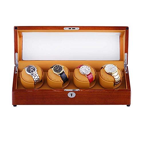 Estuche de Almacenamiento de Relojes Enrollador automático de Relojes Caja de presentación...