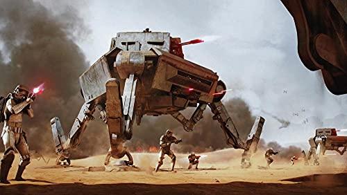 KJHJKH Movie Star Wars/AT-Ap/Stormtrooperrompecabezas Madera 1000 Comprimidos,Rompecabezas de Impresión de Alta Definición Multicolor:(H-50 cm x M/B-75 cm)