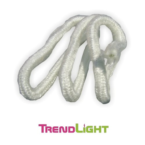 TrendLight Docht für Öllampen - Öllampendochte d=11mm 1 m rund