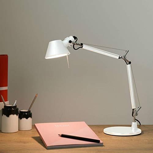 TOLOMEO MICRO-Lámpara de escritorio H37 cm blanco laca Artemide – diseñada por Michele de Lucchi & Giancarlo Fassina