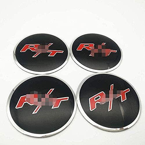 goodsmix 4 Piezas Tapas centrales para Llantas, para SsangYong ActYon Tivolan Korando R/T, 56mm Neumáticos Tapacubos Modelado Accesorios de Decoracion