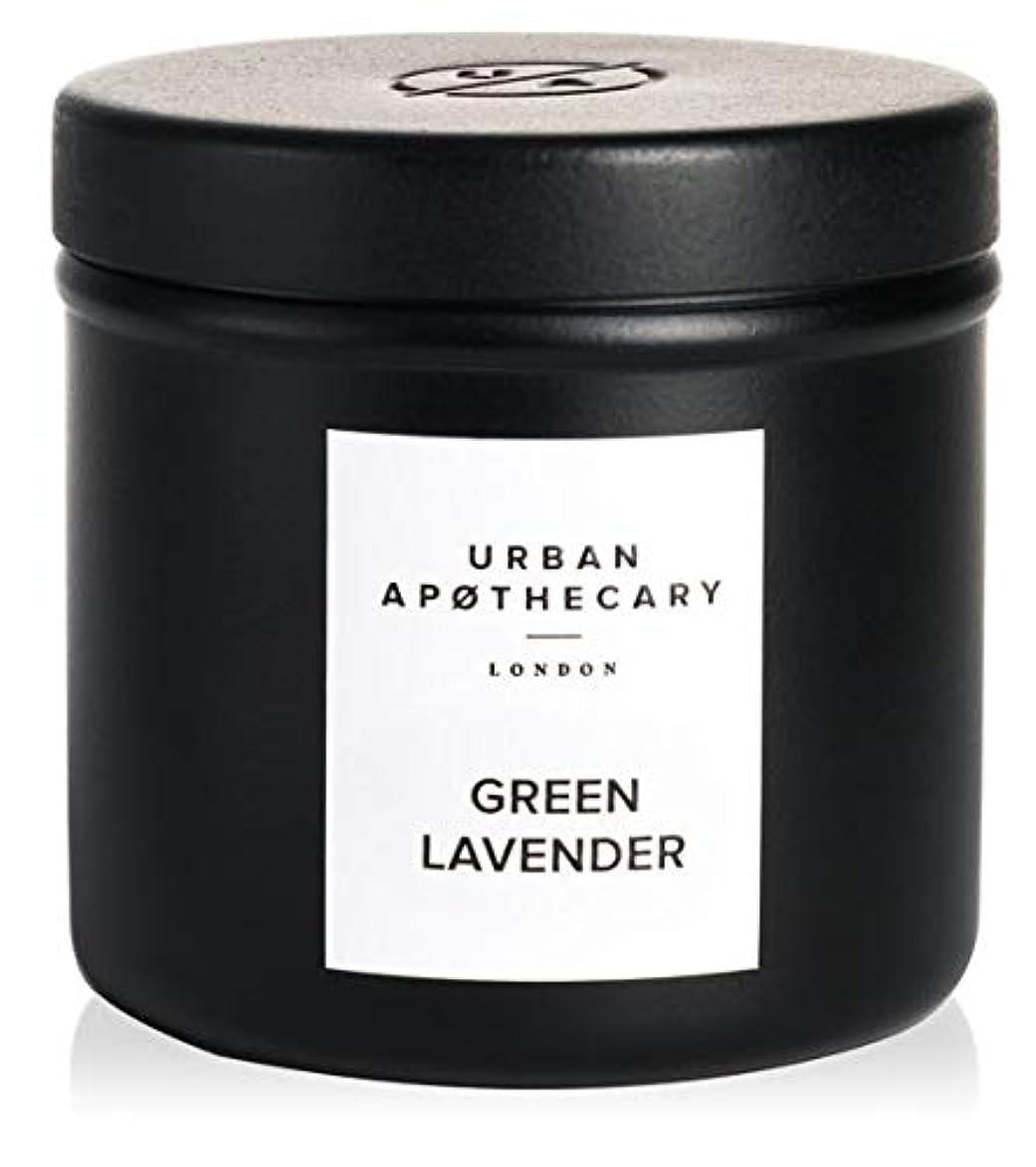 URBAN APOTHECARY トラベルキャンドル GREEN LAVENDER 175g