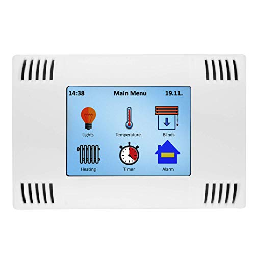 AZDelivery AZ-Touch MOD Smart Home Wandgehäuseset mit 2,8 Zoll TFT LCD Touchscreen, SPI-Touch-Controller XPT2046 kompatibel mit ESP8266 und ESP32 inklusive E-Book!