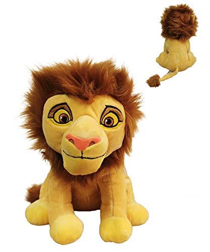 El Rey Leon (The Lion King) - Peluche Leon Simba Adulto 11