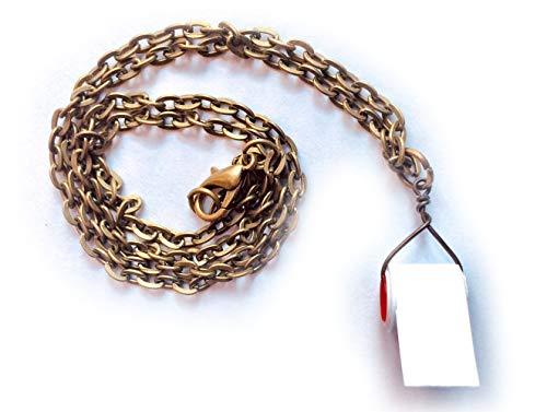 Miniblings Klopapier Halskette Virus Krise Kette Toilettenpapier Handarbeit