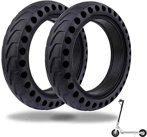 2 ruedas macizas antipinchazos para patinetes eléctricos Xiaomi M365/1s/PRO y PRO y otros scooters eléctricos con neumáticos de remplazo de 8,5 pulgadas