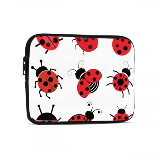 Fundas para Tableta Una Gran cantidad de encantadores Accesorios Ladybug iPad Air de Siete Estrellas compatibles con iPad 7,9/9,7 Pulgadas Bolsa Protectora de Neopreno a Prueba de Golpes