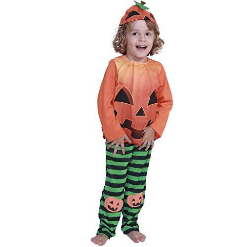 EraSpooky Disfraz de Calabaza Disfraces Cosplay Fiesta de Halloween Traje Divertido Vestir