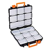 Get MIXPOWER 16 Detachable Sections 14-inch Toolbox, Removable Tool Box, Double side, Excellent Box for Storing Screws Nuts,Bolts and Small Tools Just for $29.97