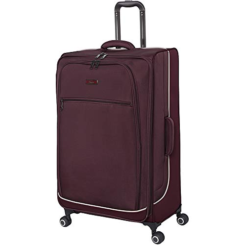 it luggage Encircle Softside Expandable Spinner, Deep Red, Checked-X-Large 32-Inch
