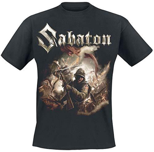 Sabaton The Last Stand Männer T-Shirt schwarz XXL 100% Baumwolle Band-Merch, Bands, Nachhaltigkeit