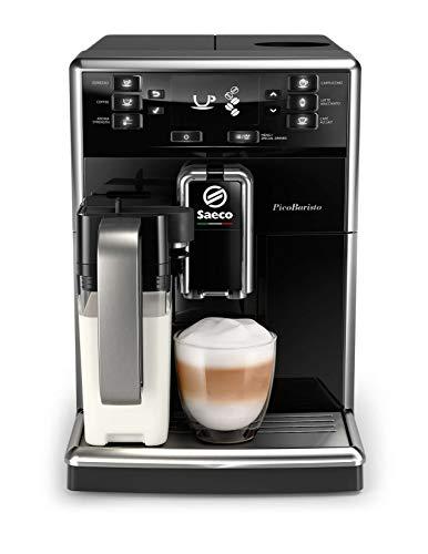 Philips Saeco SM5470/10 ekspres do kawy wolnostojący ekspres do espresso czarny 1,8 l w pełni automatyczny - Saeco SM5470/10, wolnostojący, ekspres do espresso, 1,8 l, ziarna kawy, mielona kawa, wbudowany młynek, czarny