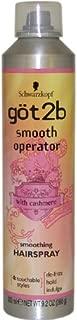 Got2b Smooth Operator Smoothing Hairspray, 9.2 Ounce