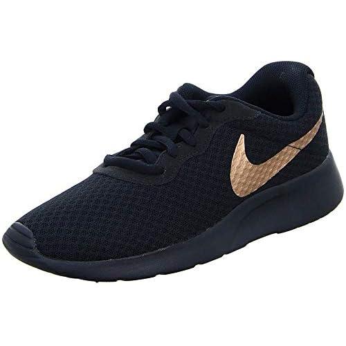 Nike Tanjun, Scarpe Running Donna, Multicolore (Black/Mtlc Red Bronze 005), 36.5 EU