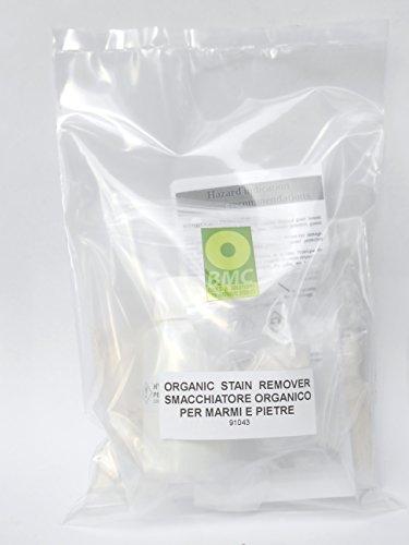 ELIMINACIÓN DE MANCHAS ORGÁNICAS kit para eliminar manchas orgánicas coloreadas en las piedras, mármol, aglomeración, cuarzo y granito