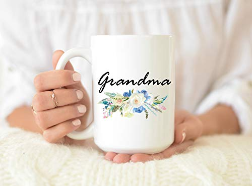 Taza de café personalizada para abuela, regalo del día de la madre, regalo para abuela, para el día de la madre, taza para el día de la madre, taza de café para abuela, taza de café para la abuela