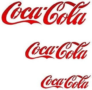 coca cola stencil large