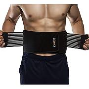 ZSZBACE Thermogenic Waist Trimmer Belt, Belly Fat Burner, Weight Loss, Spot Reduction Belt, Waist Slimmer