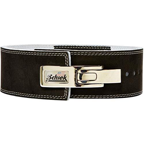 Schiek Model 7010 Lever Competition Power Weight Lifting Belt - XL - Black